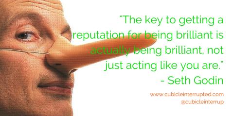 Reputation. Seth Godin.